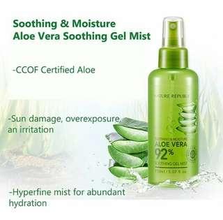Spray aloe vera bisa untuk spray makeup dan pelembab rambut