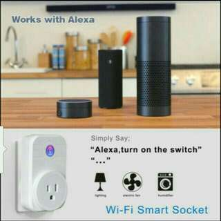 Smart plug Socket with wifi Connection