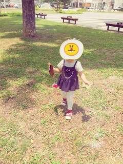 🚚 韓國女童微笑上衣2-3歲🉑️