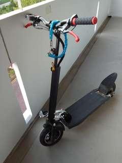 E scooter 48v 21ah Dunno brand non compliant