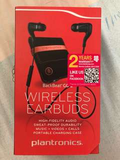 Plantronics Backbeat Go 2 + Charge Case