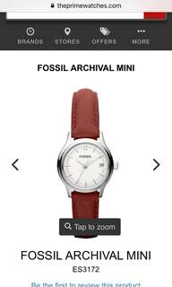 Authentic Preloved Fossil Women's watch