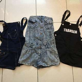 Jump skirt/ romper bundle