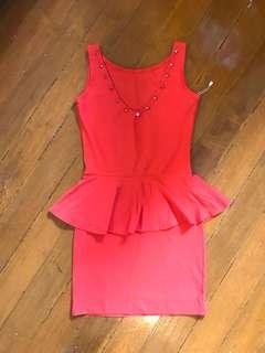 GG studded peplum dress ❤️
