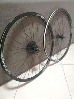 27.5 Giant Wheelset (Freewheel)