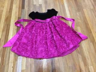 American Princess Rose Details Dress 2T