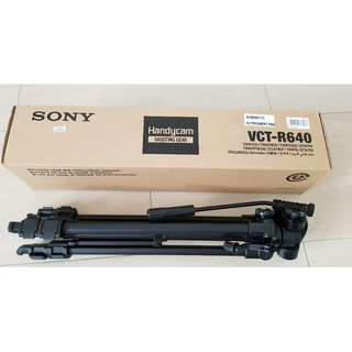 Sony VCT-R640 Tripod Camera Video Tripod Stand Light Weight (Original Sony Product)