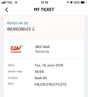 5 tiket nonton incredibles 2