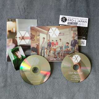 EXO Love Me Right Japanese Album (CD+DVD)