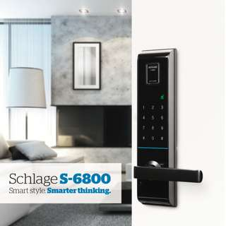 Schlage S-6800 Biometric Digital Lock ( Projects Only )