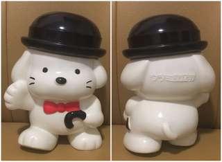Sanrio Peter Davis 1977 1990 (ウツミ屋証券 ~ 非賣品) 人形膠儲金箱 (8 吋高) (** 只限北角地鐵站交收 **)