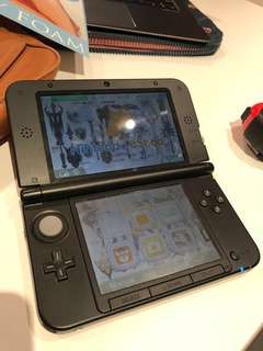 Nintendo 3DS XL Console (Red/Black)