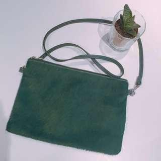 Jack Wills London Clutch (Green)