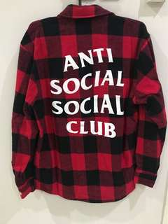 ASSC Plaid Flannel - Small