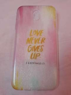 J7 PRO never give up case