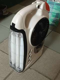 Portable radio cum lights cum fan for Picnic & other entertainment purposes