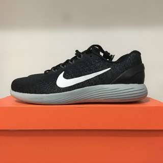 BNIB Nike Lunarglide 9 Black/White-Dark Grey