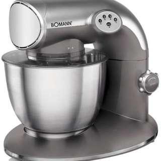 [德國製造 Made in Germany] 專業麵團機器 Bomann KM 305 CB - Robot Multifunction Kitchen mixer 5.6L 1200w