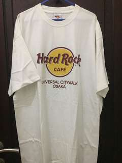 Jual kaos hard rock universal osaka japan new L