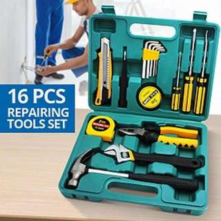 16 pcs Home Repair Tool Set