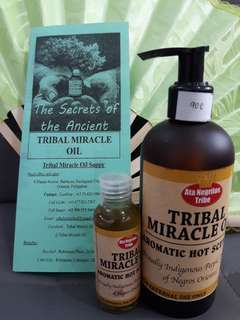 Aromatic hot scented oil