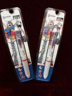 日本製 Frixon Gundam 高達 三色擦得甩原子筆