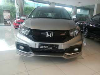 DISKON GILA HONDA NEW MOBILIO RS CVT 2018 BRIO MOBILIO JAZZ HRV BRV CRV CITY CIVIC ACCORD ODYSSEY HR-V BR-V CR-V HATCHBACK S E RS MT AT TURBO PRESTIGE 2018