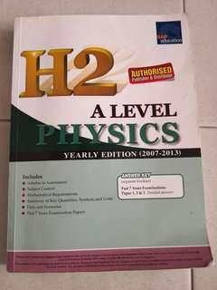 H2 Physics TYS Yearly 2007-2013