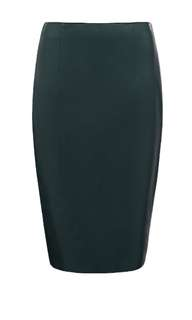 Forever New Victoria Leatherette Pencil Skirt - Size 8