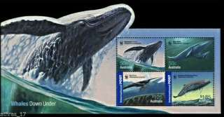 2006 Australia Whales miniture sheet mint