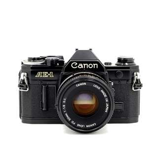 Canon AE-1 Film SLR Camera