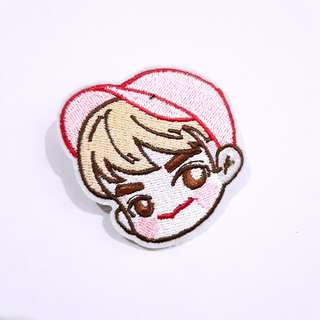 GOT7 Jackson Wang Embroidery badge