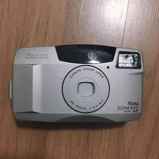 CANON Prima ZoomShoot Date 35mm film camera