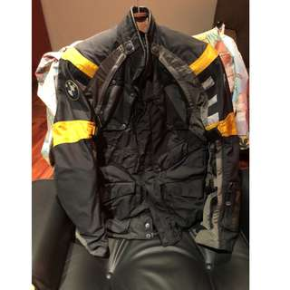 BMW Rally 3 Motorrad Suit and Pants size 50 w/ Inner Lining