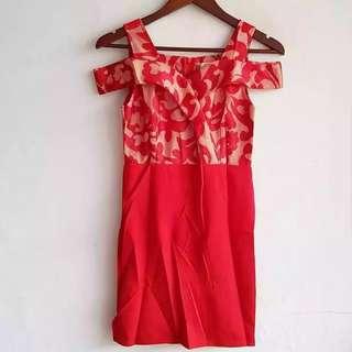 IMPORT BKK. Georgia brocade dress