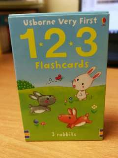 Usborne baby 123 flash cards