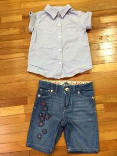Carter's Girl Set 2T