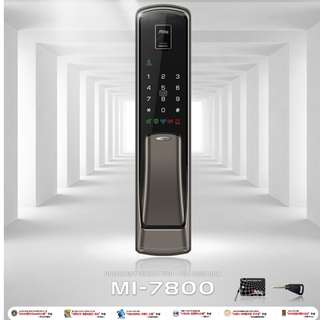 Milre MI-7800 (Push/Pull) Biometrics Digital Lock