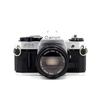 Canon AE-1 Program SLR Camera