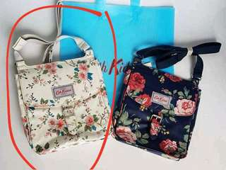 PRELOVED CATH KIDSTON WHITE BAG