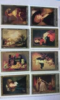 前蘇聯舊郵票—本