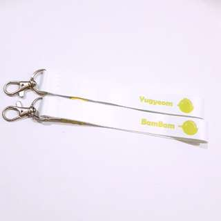 GOT7 Yugyeom Bambam lightstick strap nametag