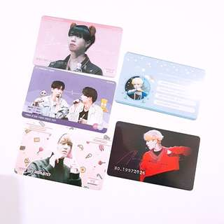 GOT7 Yugyeom JJP bank card