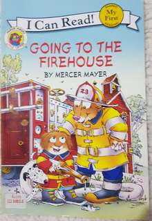 I Can Read My First Level Going to the Firehouse