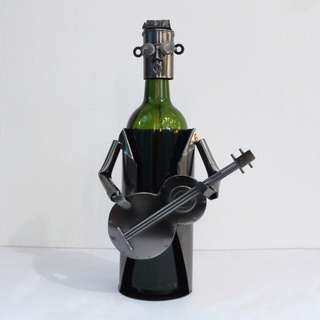 Wine holder - guitar player