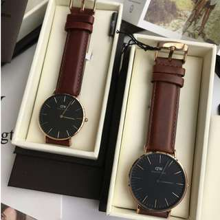 DANIEL WELLINGTON CLASSIC BLACK ST MAWES 40MM & 36MM