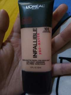 Loreal Infallible Pro Matte - Natural Buff