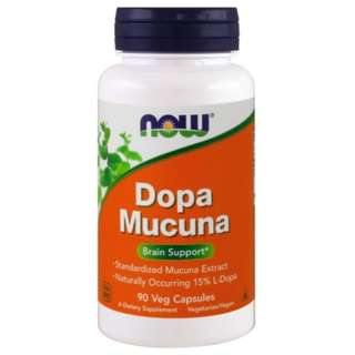 🚚 Now Foods Dopa Mucuna 90 Veg Capsules