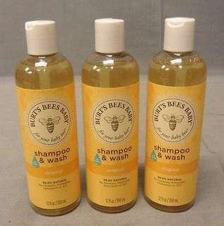 Burt's Bee Original Baby Wash & Shampoo