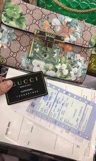 Padlock Gucci floral print